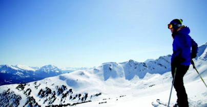 Wintersport in de Canadese Rockies