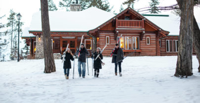 Wintersport in Jasper: Fairmont Jasper Park Lodge