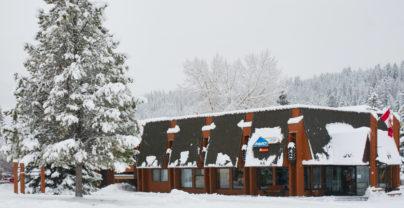 Combineer Edmonton en Jasper: Marmot Lodge