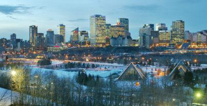 Wintersport naar Edmonton en Jasper
