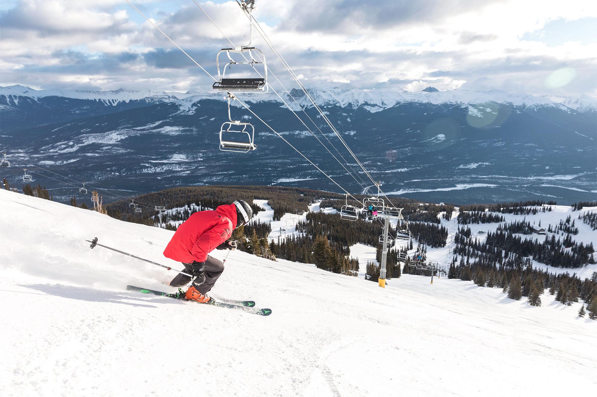 Skiën bij Marmot Basin